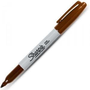 Brown Sharpie Pen
