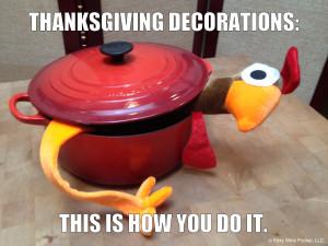 Thanksgiving Decorations Meme