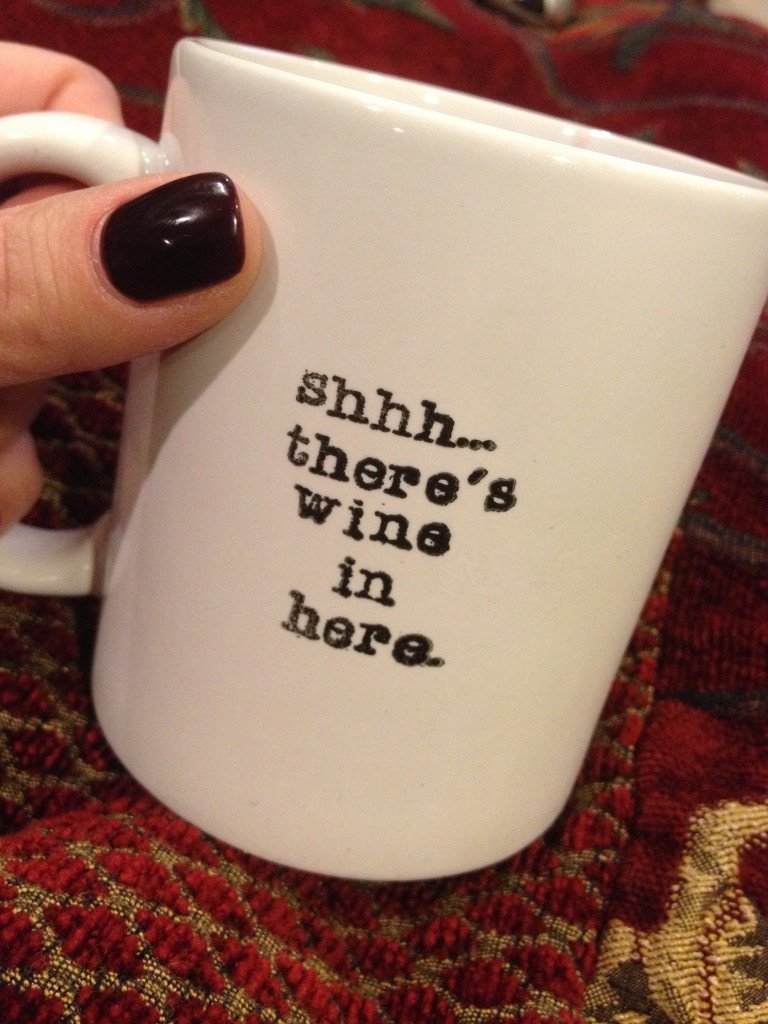 Shh...There's Wine in Here