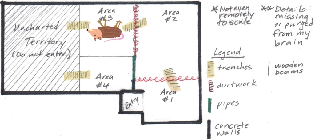 Marked Floorplan