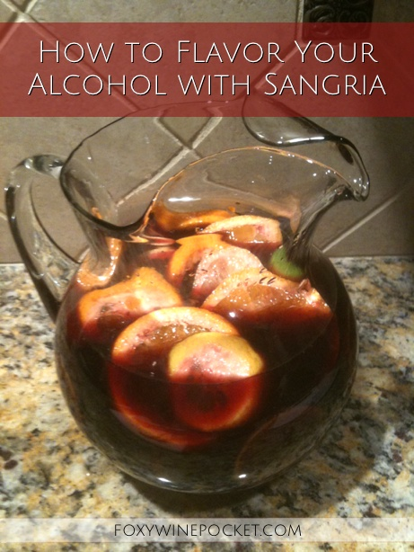 This sangria is absolutely delicious, but it will fuck you up if you're not careful. @foxywinepocket | humor | sangria recipe