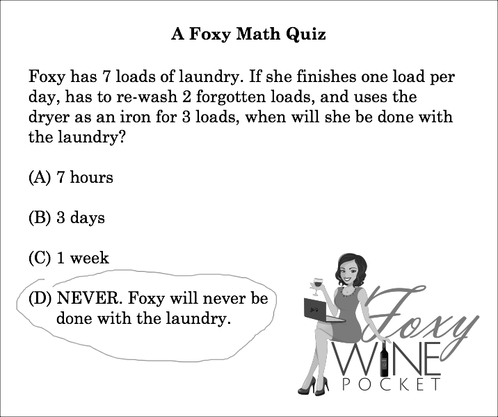 I Always Hated Word Problems @foxywinepocket