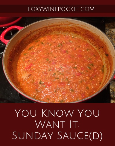 This is hands-down the most delicious meat sauce I've ever made. And this post is so much more than a recipe: it's like dinner and a show. Enjoy! @foxywinepcocket | recipe | humor