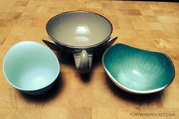 These are lovely nut bowls, but they're still not as good as the old one.