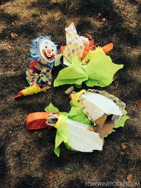 It's totally normal to obsess over a dismembered clown, right?