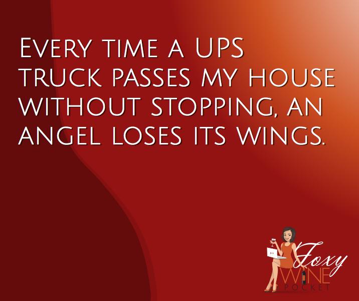It's true. It happens every time. @foxywinepocket #bellrings #angelwings