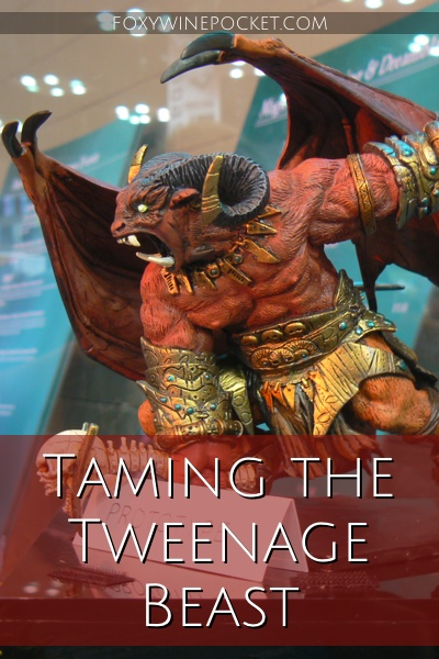 Taming the Tweenage Beast @foxywinepocket #seventhcircleofhell #hangry