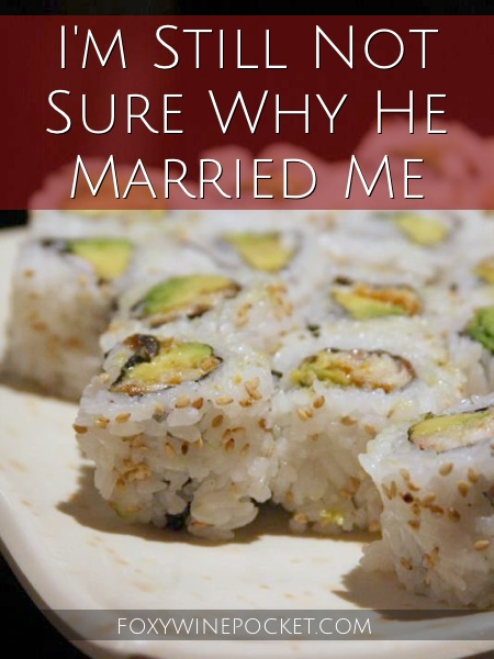 In retrospect, all the warning signs were there that my husband never should have married me. He just didn't heed them. @foxywinepocket | humor | marriage tips