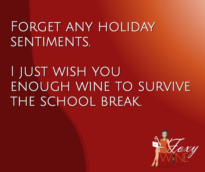 My Holiday Wish for You @foxywinepocket