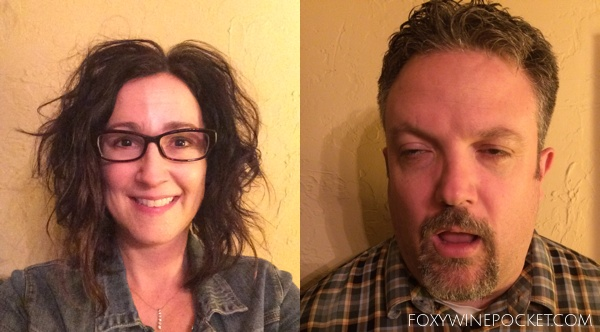 Imagine us with fewer wrinkles and gray hair. @foxywinepocket