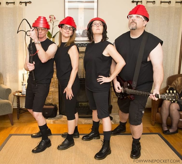 Are we not men? We are DEVO! @foxywinepocket