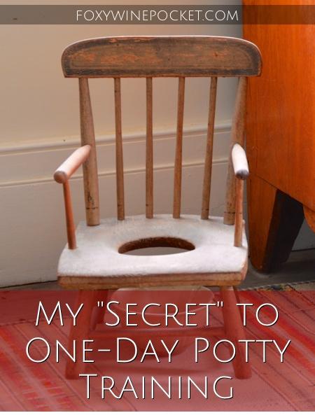 """My """"Secret"""" to One-day Potty Training @foxywinepocket"""