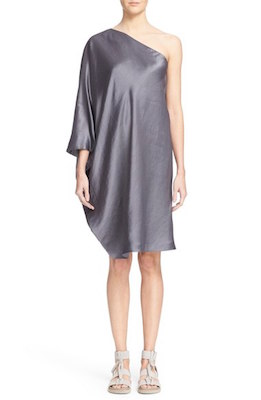 One-Shoulder Light Doppio Dress