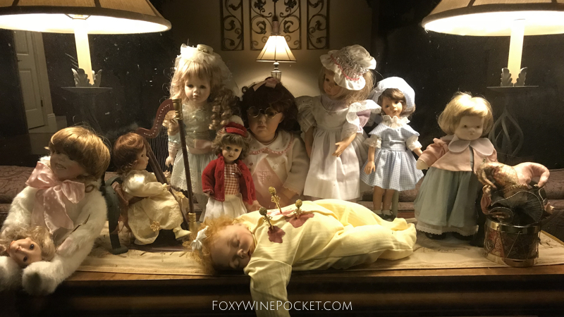 a really fucked up doll funeral scene